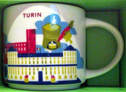 Starbucks You Are Here Turin mug