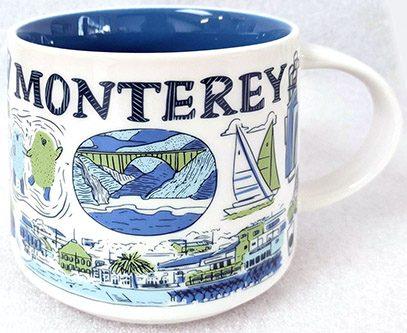 Starbucks Been There Monterey mug