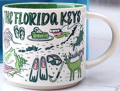 Starbucks Been There The Florida Keys mug