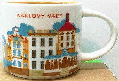 Starbucks You Are Here Karlovy Vary mug