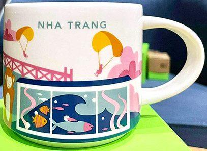 Starbucks You Are Here Nha Trang mug