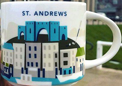 Starbucks You Are Here St. Andrews mug