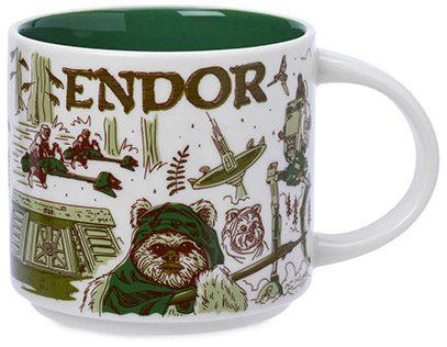 Starbucks Star Wars Been There Endor mug