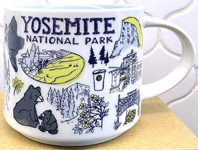 Starbucks Been There Yosemite National Park mug