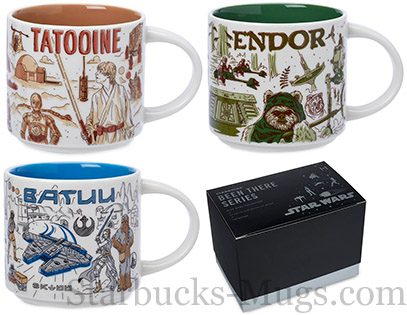 Starbucks Batuu, Tatooine and Endor mugs have been released mug
