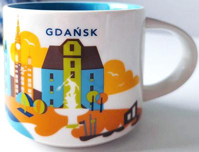 Starbucks You Are Here Gdańsk mug