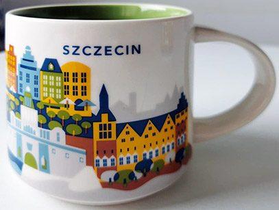 Starbucks You Are Here Szczecin mug