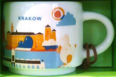 Starbucks You Are Here Ornament Krakow mug