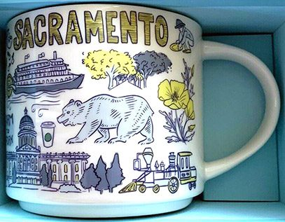 Starbucks Been There Sacramento mug
