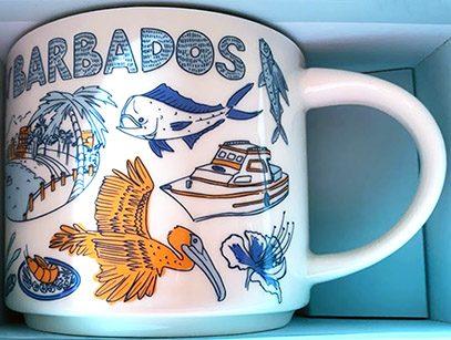 Starbucks Been There Barbados mug