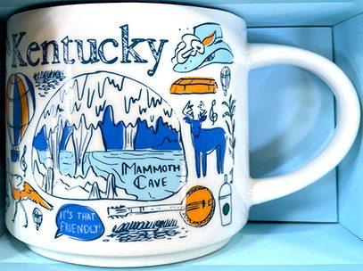 Starbucks Been There Kentucky 2 mug