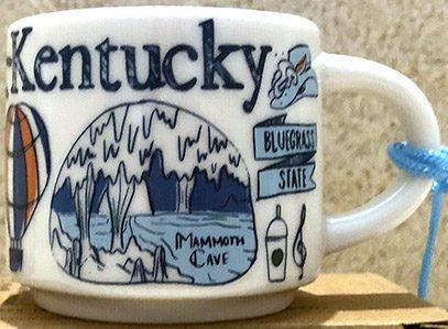 Starbucks Been There Ornament Kentucky 2 mug