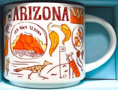 Starbucks Been There Arizona 3 mug
