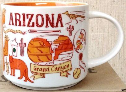 Starbucks Been There Arizona 2 mug