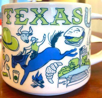 Starbucks Been There Texas 3 mug