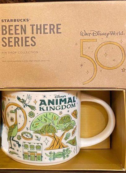Starbucks Been There Disney Animal Kingdom 2 mug