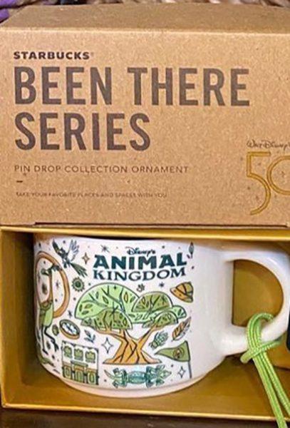 Starbucks Been There Ornament Disney Animal Kingdom 2 mug