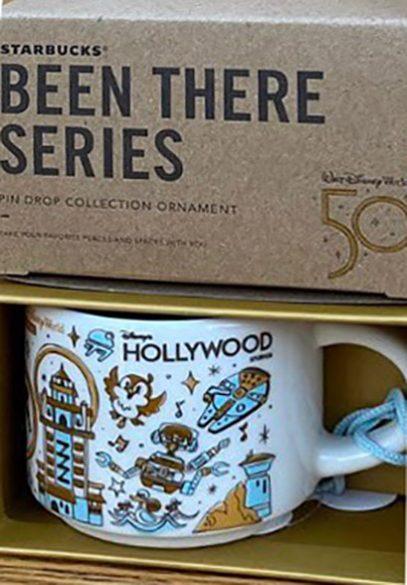 Starbucks Been There Ornament Disney Hollywood Studios 2 mug